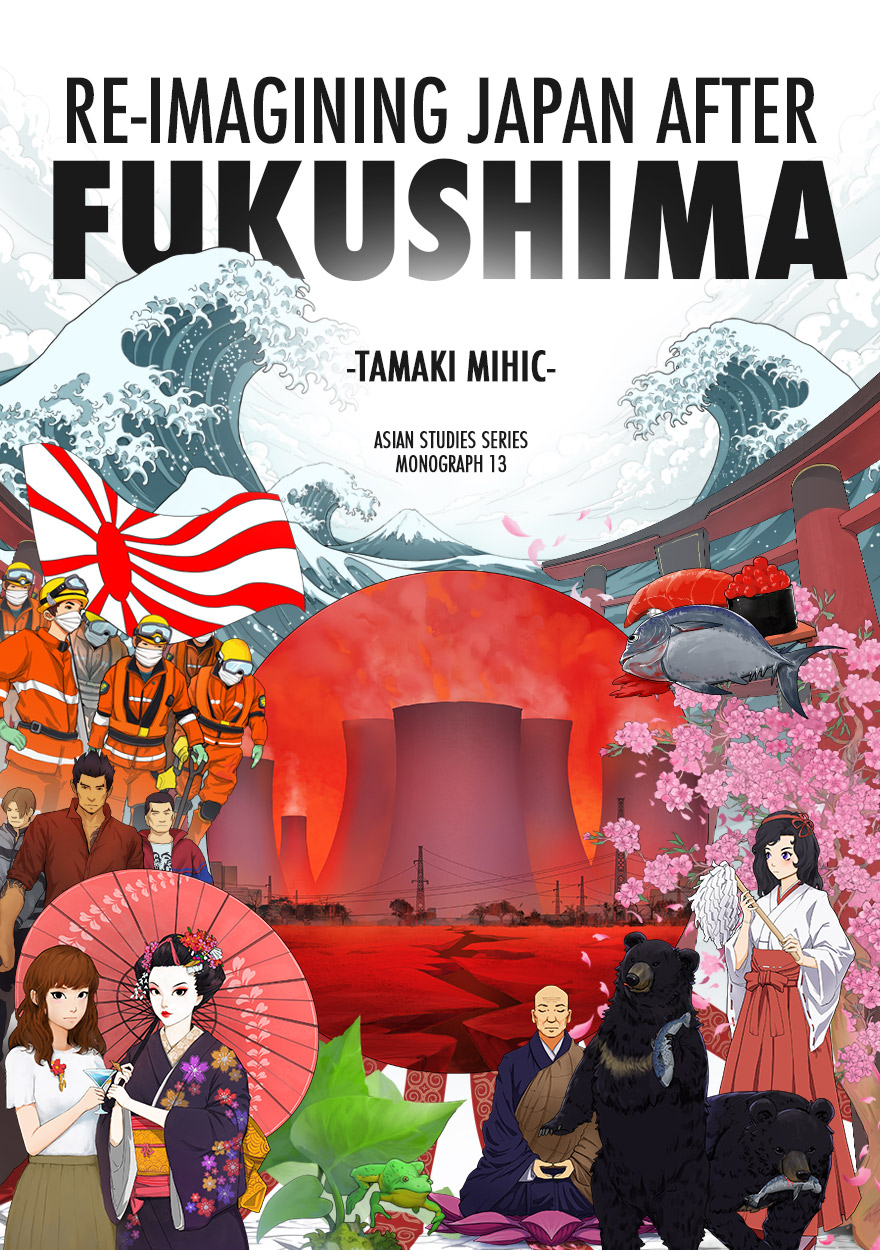 Book cover, Re-Imagining Japan After Fukushima