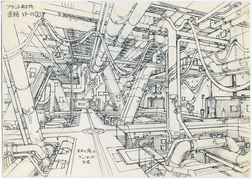 Concept Design for Ghost in the Shell 2: Innocence (2004) by Takashi Watabe © 2004 Shirow Masamune / KODANSHA · IG, ITNDDTD