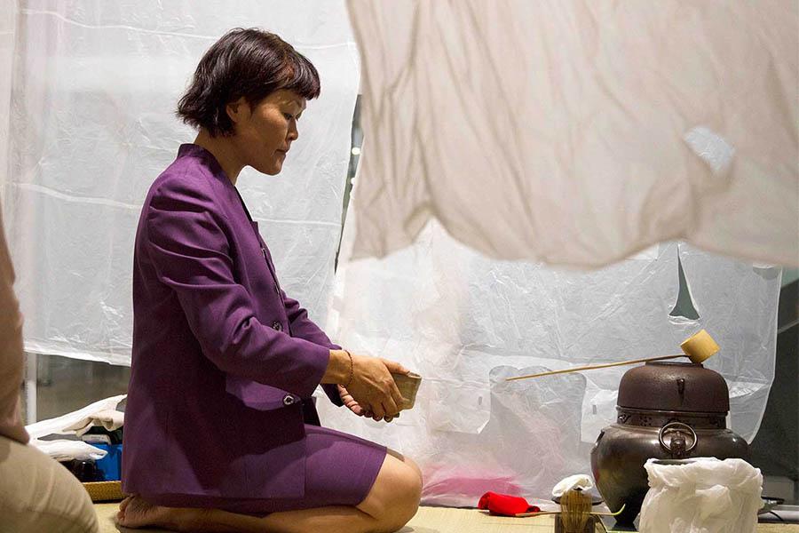 Yumi Umiumare's PopUp Tearoom series - AnxieTEA.
