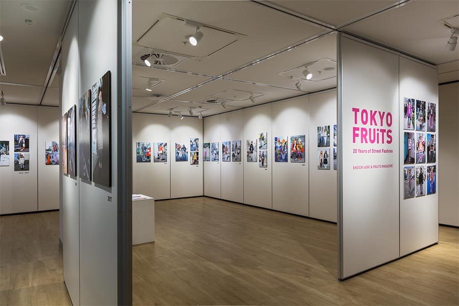 Photos courtesy of Shoichi Aoki, FRUiTS magazine
