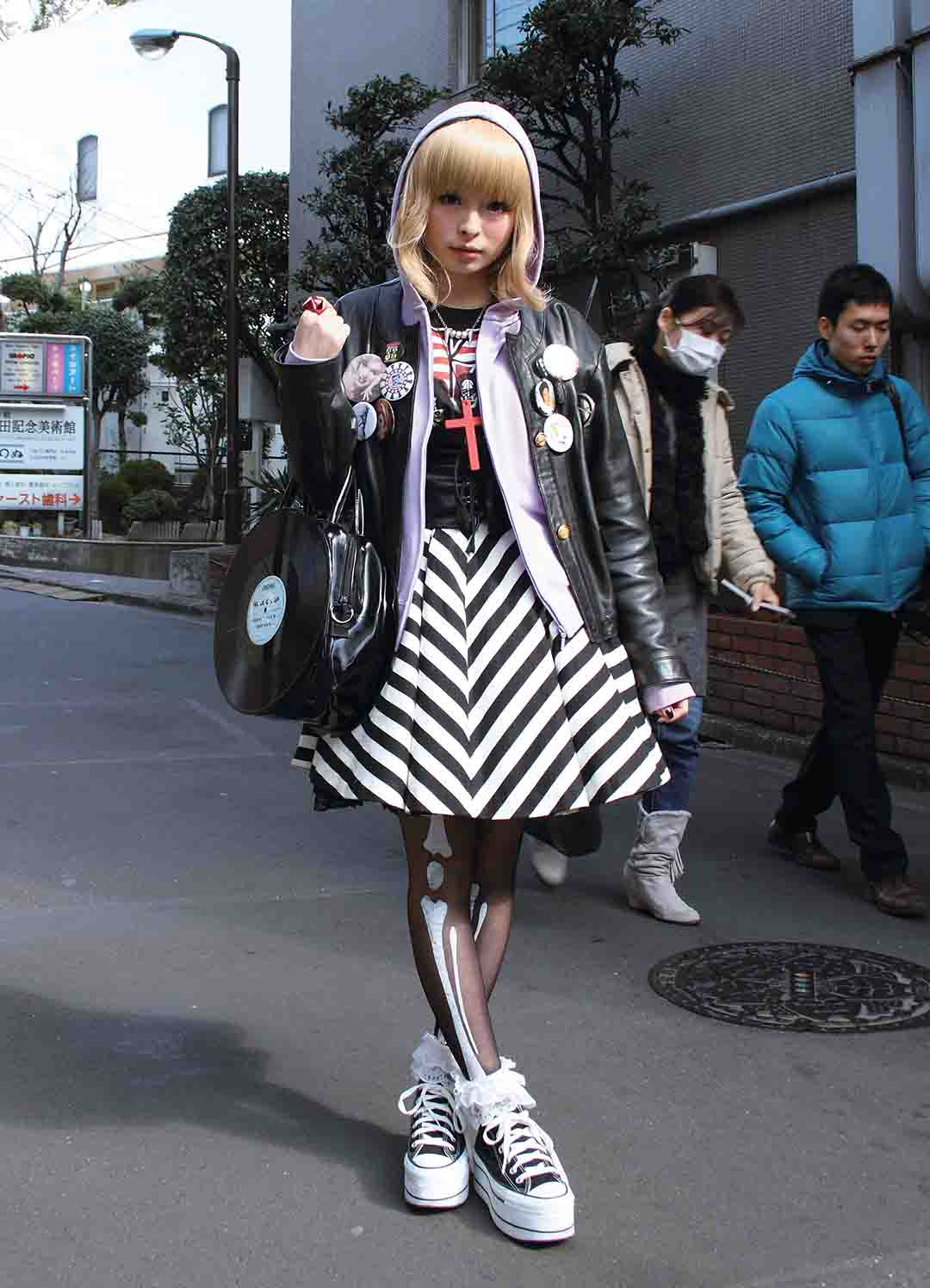 Japanese Girls Street Fashion