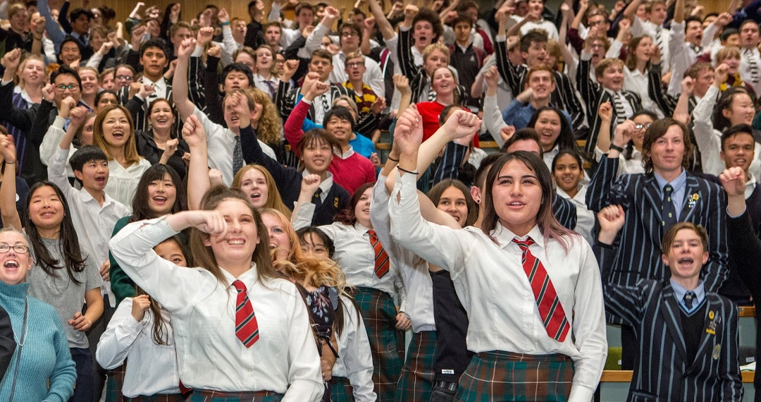 Student Advocacy Day in Canterbury, New Zealand – Japan